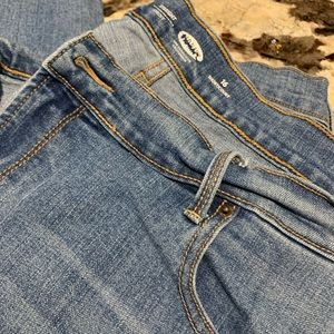 Size 16 Old Navy Straight Short Jeans